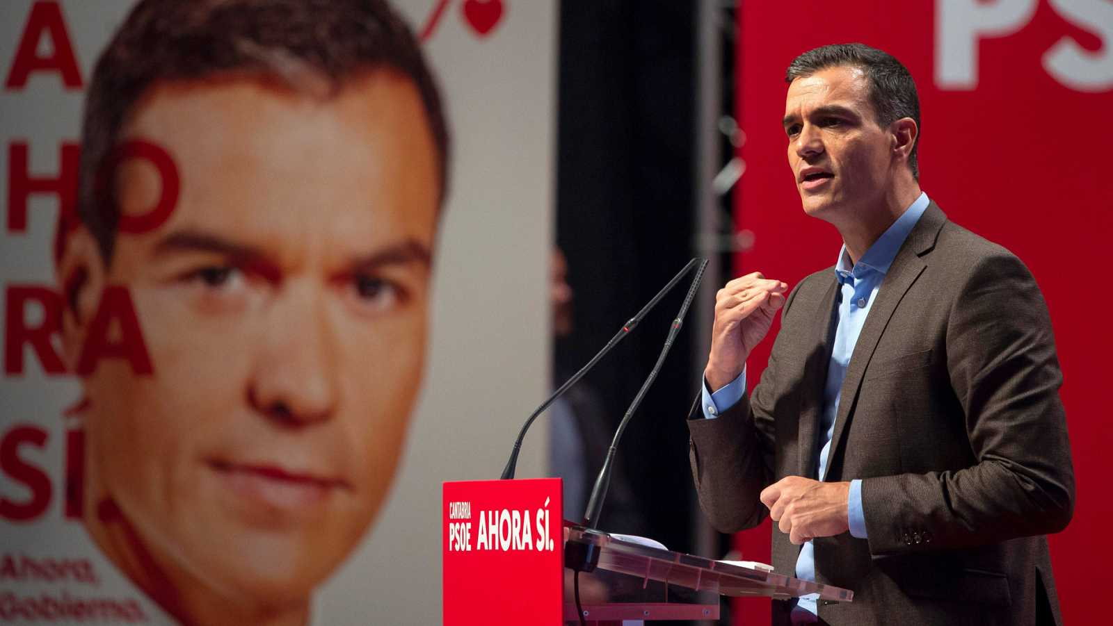 Sánchez asegura que el programa del PSOE defenderá el federalismo y la plurinacionalidad