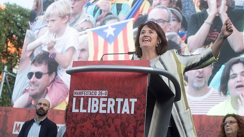 Sociedad Civil Catalana denuncia a la presidenta de la ANC por apología de la violencia