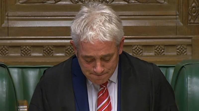 Adiós a Bercow, el 'speaker' más colorido del Parlamento británico
