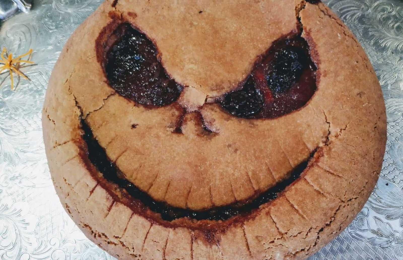 Tarta terrorífica de calabaza