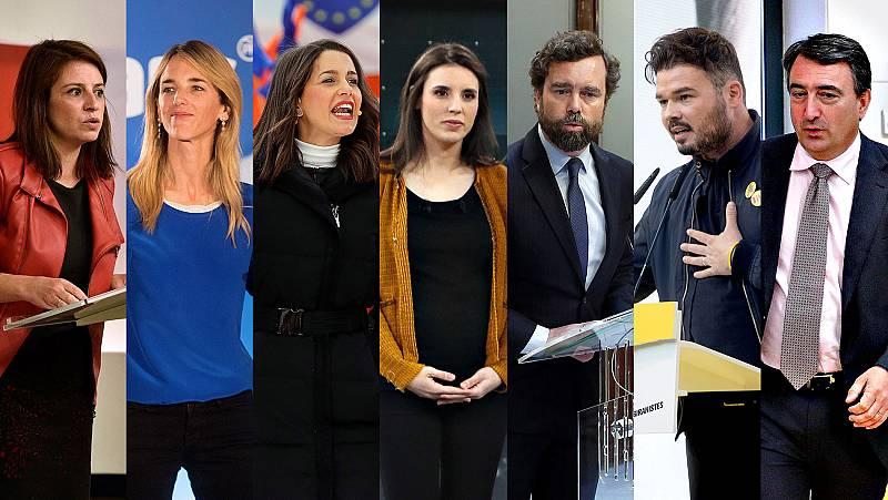 RTVE acogerá el primer debate de la campaña electoral, entre los siete portavoces parlamentarios