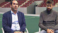 Gerard Piqué y Albert Costa analizan las claves de la nueva Copa Davis en Teledeporte