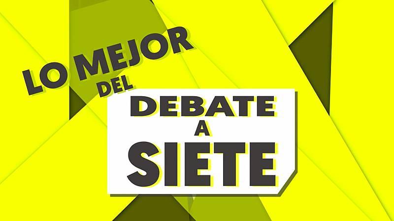 Lo mejor del debate a siete de RTVE