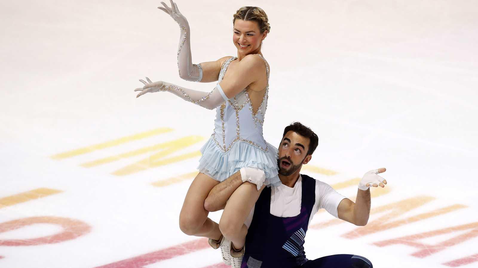 Olivia Smart y Adrià Díaz repiten cuarto lugar en el Internacional de Francia