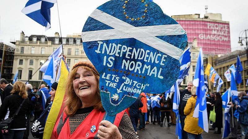 El independentismo escocés demanda un nuevo referéndum en 2020