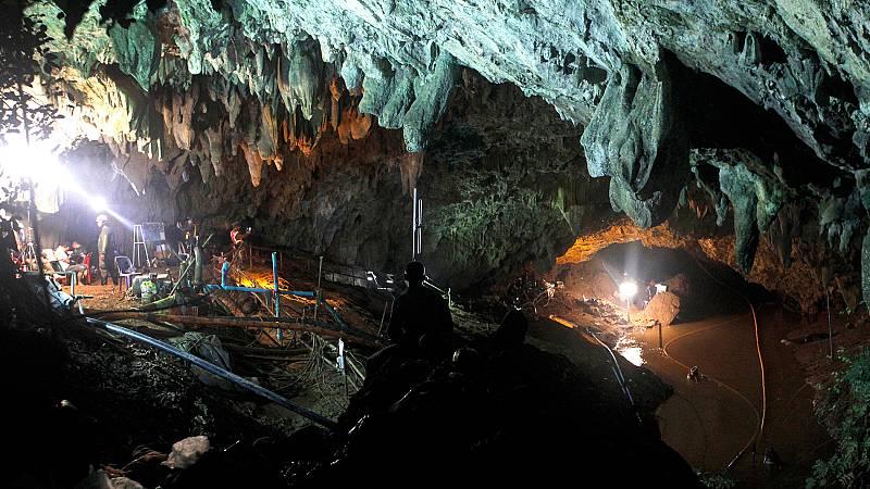 La cueva Tham Luang en Tailandia, convertida en atracción turística