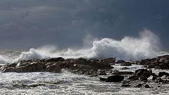 Descenso de las temperaturas y viento muy fuerte en el litoral cantábrico