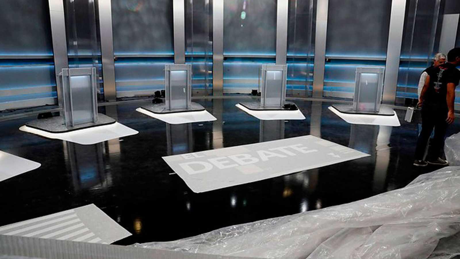 Cómo seguir el debate a cinco este lunes en RTVE
