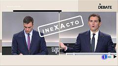 """Rivera: """"El señor Sánchez no lo dice pero el paro es el peor de los seis últimos años"""". Inexacto, por Verifica RTVE"""