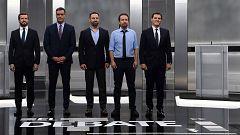 Los momentos más intensos del debate a cinco en RTVE