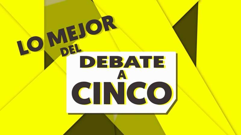 El resumen de los mejores momentos del debate electoral a cinco en RTVE