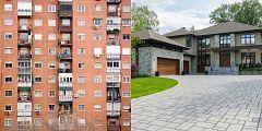 La mañana - Las diferencias entre barrios ricos y pobres
