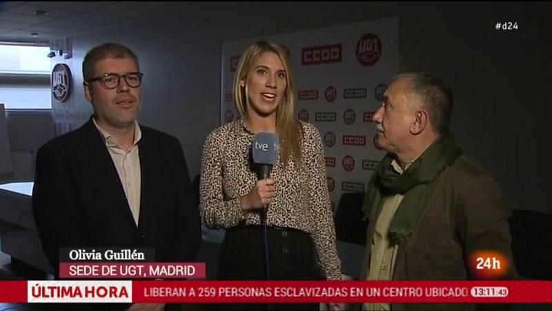 Álvarez y Sordo aseguran que el dato del desempleo de octubre refleja la situación económica