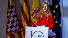"""La princesa Leonor en los premios Princesa de Girona 2019, en catalán: """"Cataluña siempre tendrá un lugar especial en mi corazón"""""""