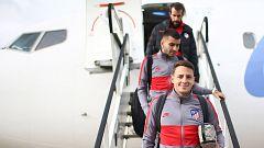 El Atleti viaja a Leverkusen con 20 jugadores