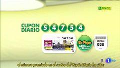 Sorteo ONCE - 05/11/19