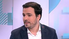 """Alberto Garzón, candidato de Unidas Podemos: """"Sánchez está abandonando la izquierda para conciliar con la derecha una posible abstención"""""""