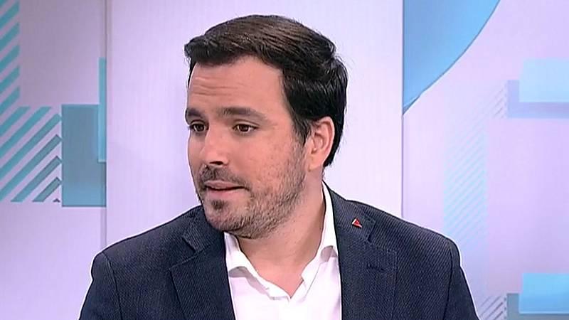 """Garzón cree que Sánchez está """"abandonando la izquierda"""" para """"conciliar una posible abstención"""" con la derecha"""
