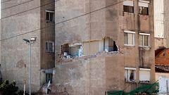La Mañana - El derribo de un edificio con aluminosis en Badalona