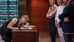 Anabel presenta su plato al estilo Félix