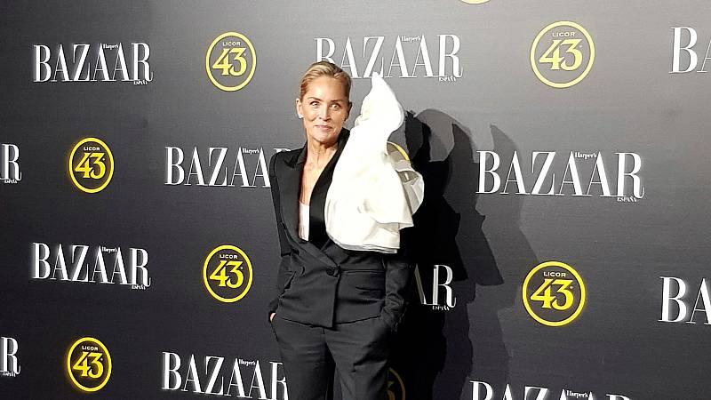 """Corazón - Sharon Stone recoge un premio por ser un """"icono"""" global"""