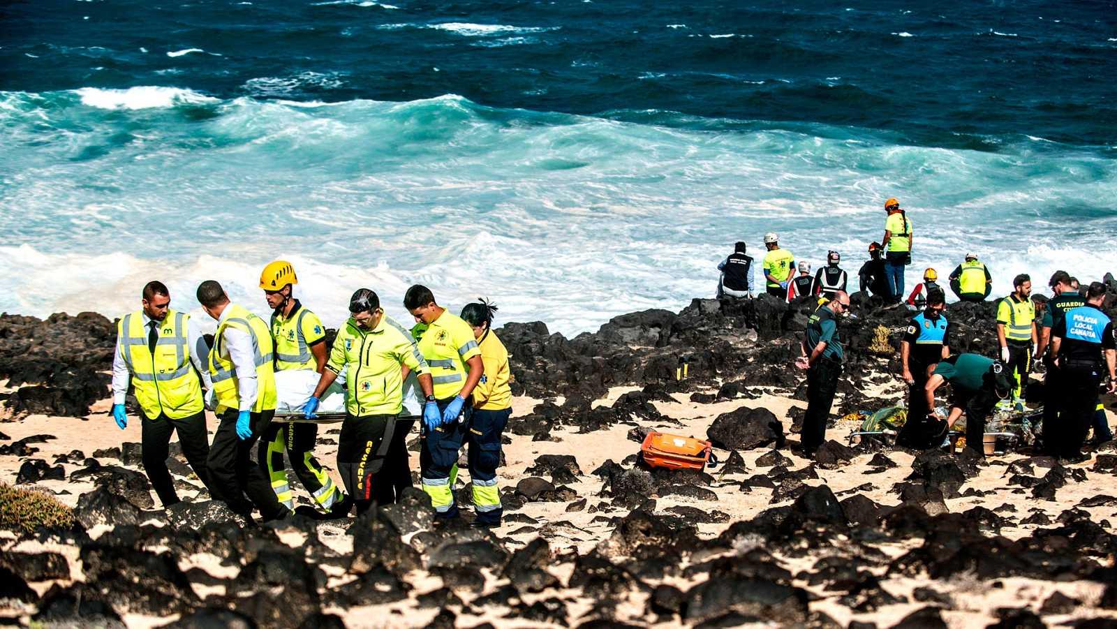 El naufragio de una patera frente a las costas de Lanzarote deja seis muertos