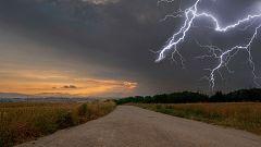 Precipitaciones persistentes en el Cantábrico oriental y noroeste de Navarra