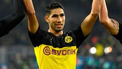 Achraf brilla en Dortmund deseando volver al Madrid