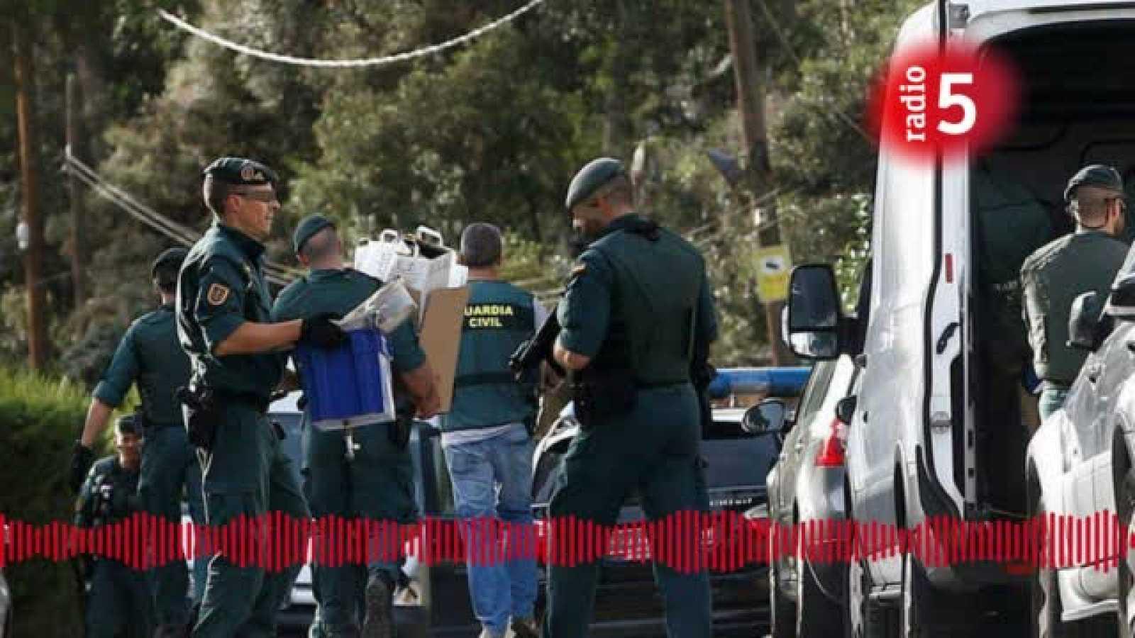 24 horas - Los planes de los CDR detenidos incluían ocupar el Parlament con Quim Torra dentro  - Escuchar ahora