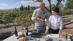 Aquí la tierra - ¿Cómo maridar vino con verduras?