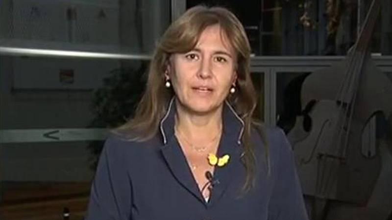 """Laura Borràs, sobre las declaraciones de Sánchez sobre la Fiscalía: lo ha hecho """"con chulería""""."""