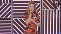 """Operación Triunfo - Claudia es bailarina y """"un poco"""" cantante"""