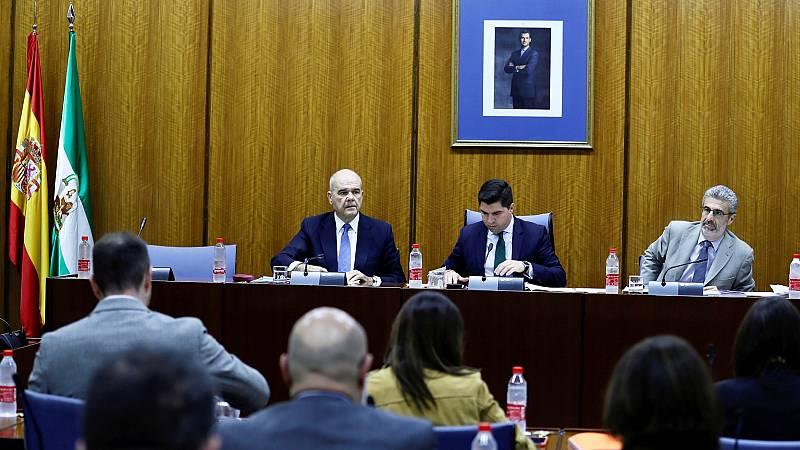 """Chaves abandona la comisión sobre la Faffe en el Parlamento andaluz y denuncia """"manipulación"""" electoral"""