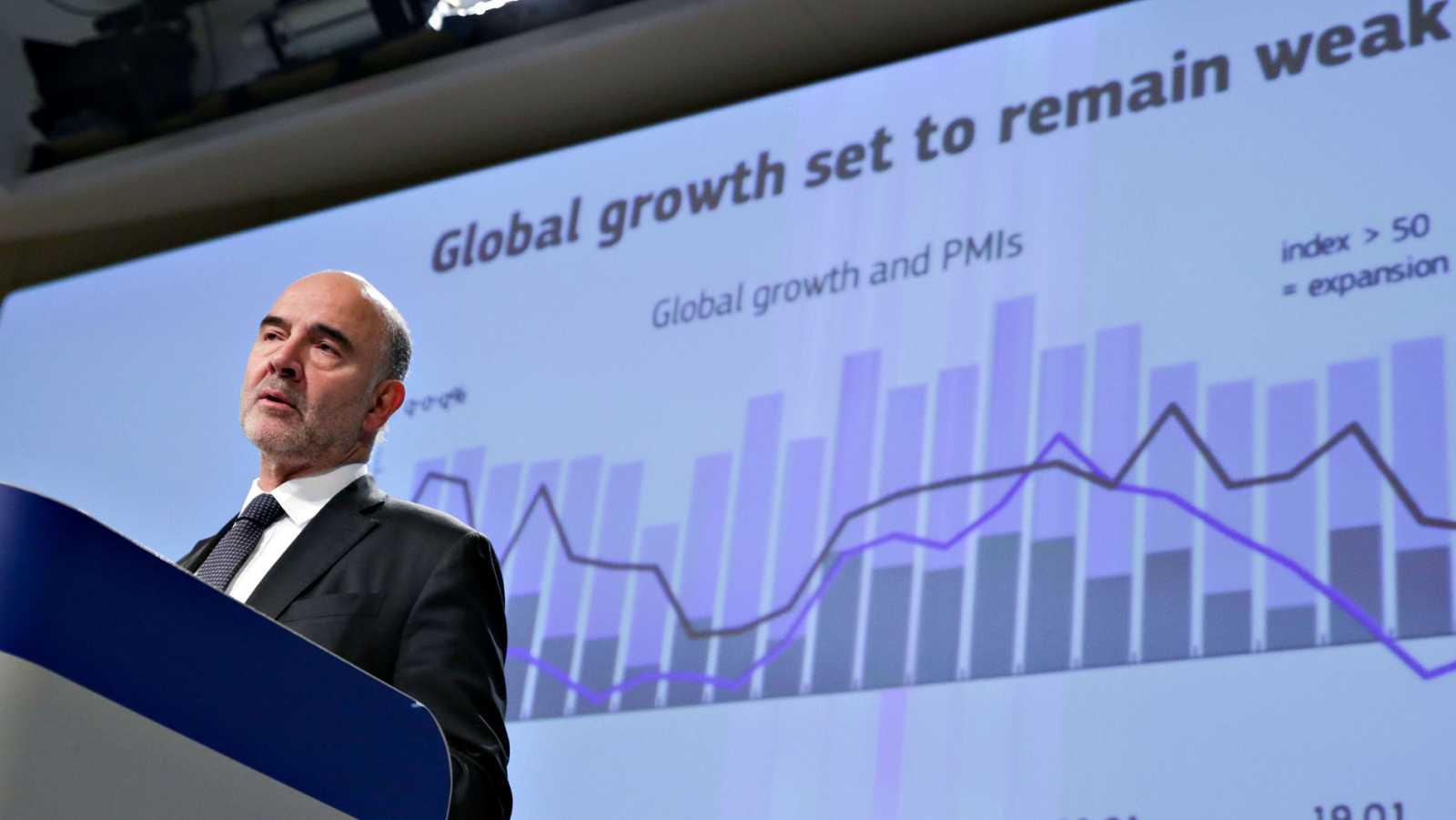 Bruselas rebaja las previsiones de crecimiento de España y de toda la zona euro