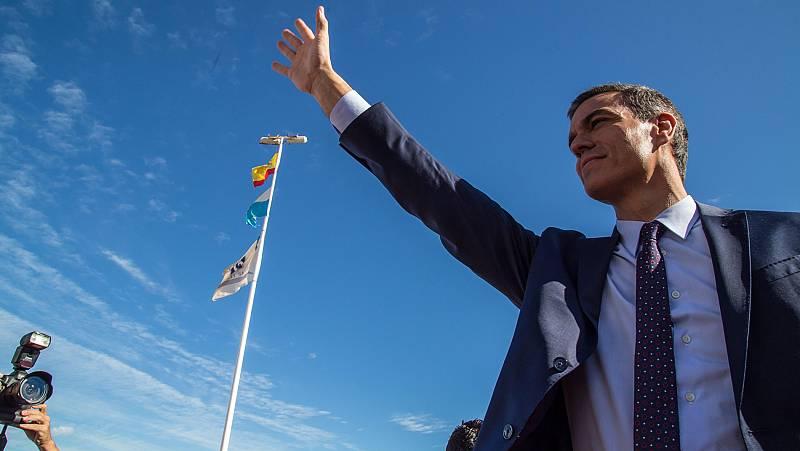 Sánchez culpa al PP de la crisis medioambiental en el Mar Menor