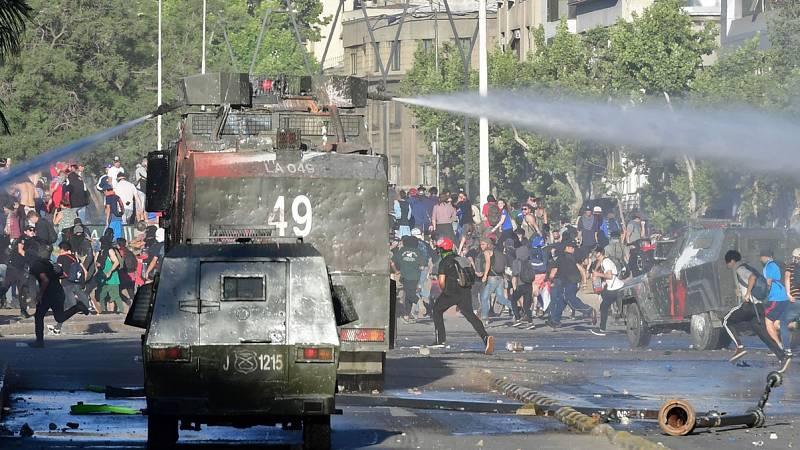Las protestas en Chile se internan ya en los barrios acomodados de Santiago