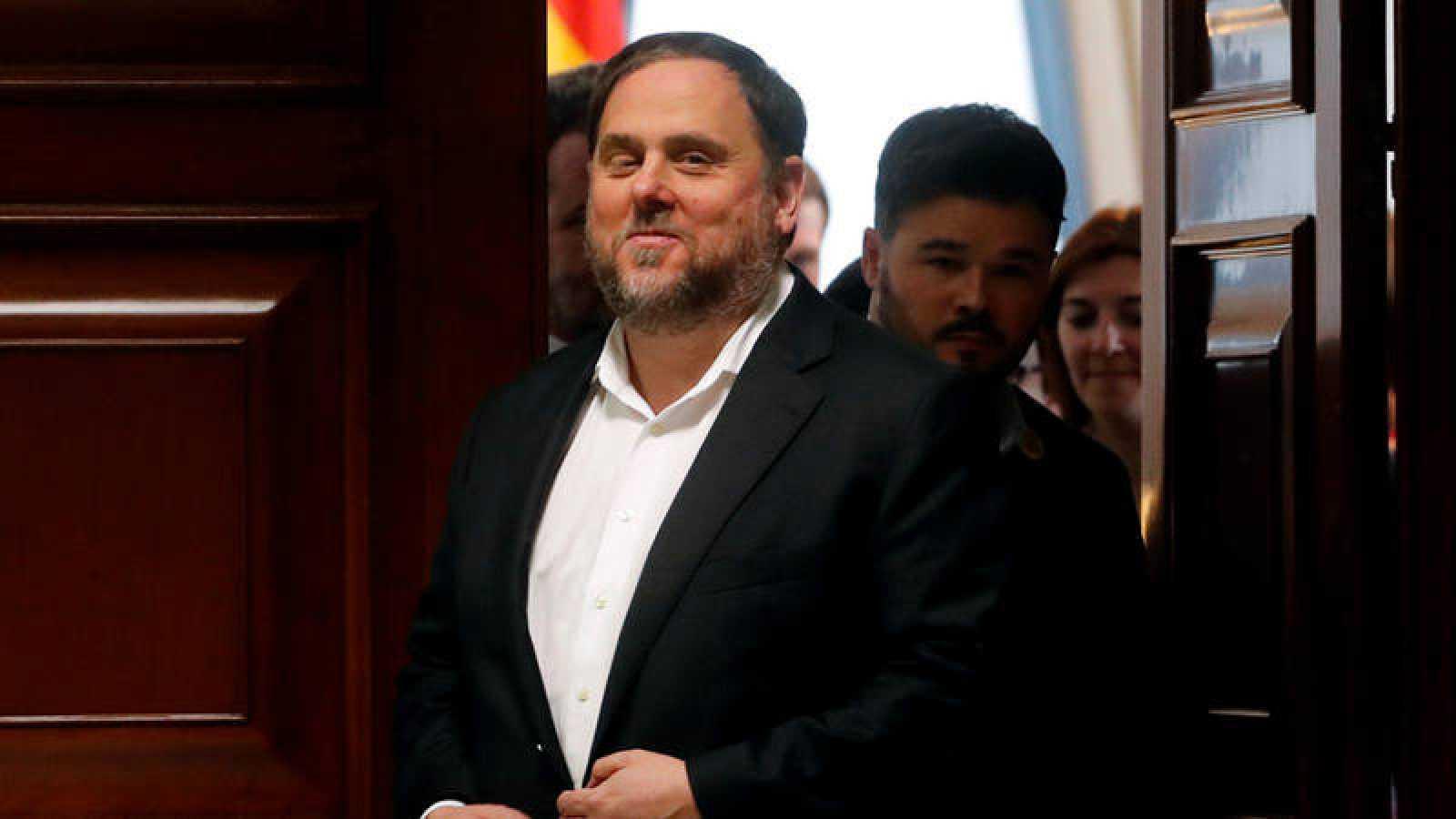 Junqueras pide su puesta en libertad y ser candidato después de que Supremo haya pospuesto su inhabilitación