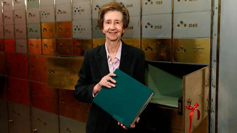Margarita Salas, autora de la patente más rentable del CSIC