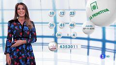 Lotería Nacional + La Primitiva + Bonoloto - 07/11/19
