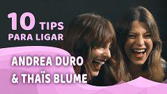 Promesas de arena - Aprende a ligar con Andrea Duro y Thaïs Blume