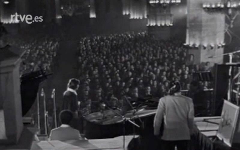 Concierto de Duke Ellington y su gran orquesta - Basílica de Santa Maria del Mar, 1974