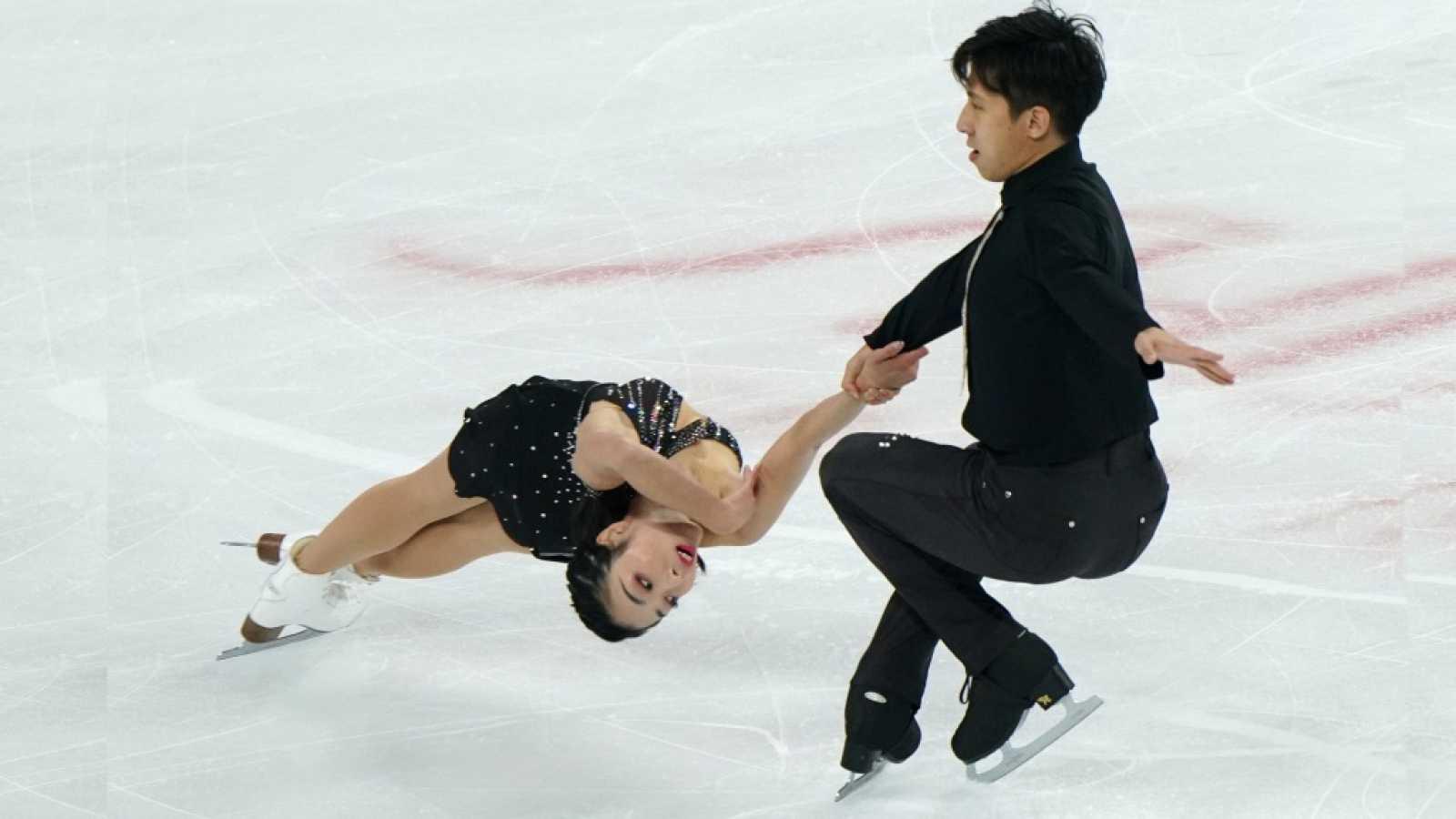 Patinaje artístico - Copa de China. Programa corto parejas. Desde Chongqing (China) - ver ahora