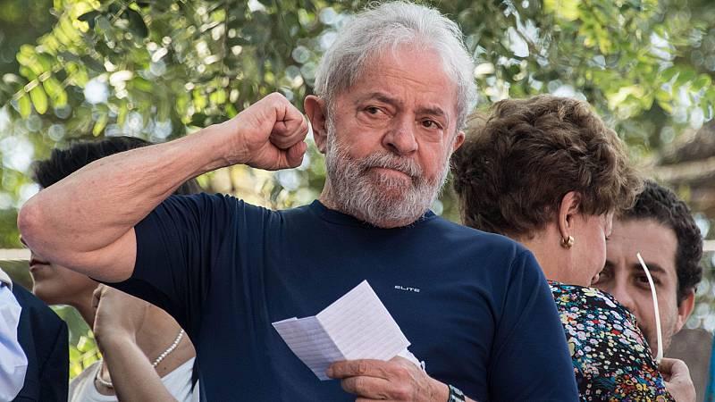 Un juez de Brasil ordena la puesta en libertad de Lula