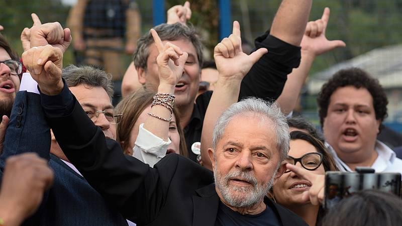 Lula sale de prisión tras pasar un año y siete meses entre rejas condenado por corrupción