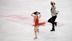 Patinaje artístico - Copa de China. Programa libre parejas.