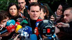 """Rivera llama a votar """"especialmente a los moderados"""" y asegura que """"el desbloqueo"""" es el principal objetivo"""