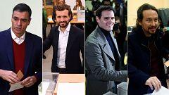 Los candidatos de los principales partidos llaman a una participación masiva