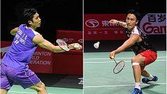 Bádminton - Open de Fuzhou, China. Final individual masculina: Momota - Chou T.C.
