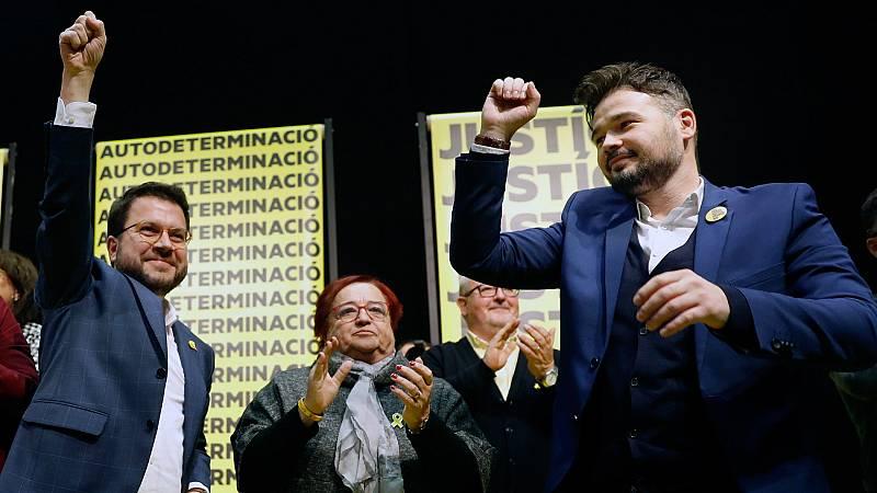 """Rufián: """"El republicanismo catalán hoy ha sentenciado el 10N"""""""