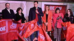 Resumen de la noche electoral: el PSOE gana, Vox se dispara y Cs se hunde
